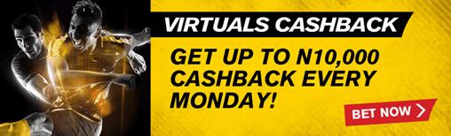 virtuals cashback