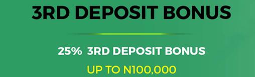 lionsbet third deposit bonus