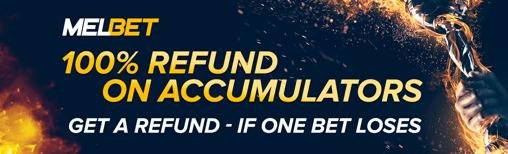 melbet accumulators refund